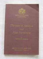 "Henry Flack III, ""The Care of Antique and Fine Furniture"" (c.1980s) - book of advice on wood finishing / furniture repairs"
